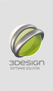 3Design button
