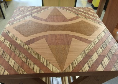 Wood Inlay Table