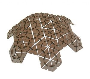 Laser Cut Geodesic Dome